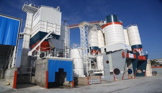 Ramla major dry batch tower batching plant