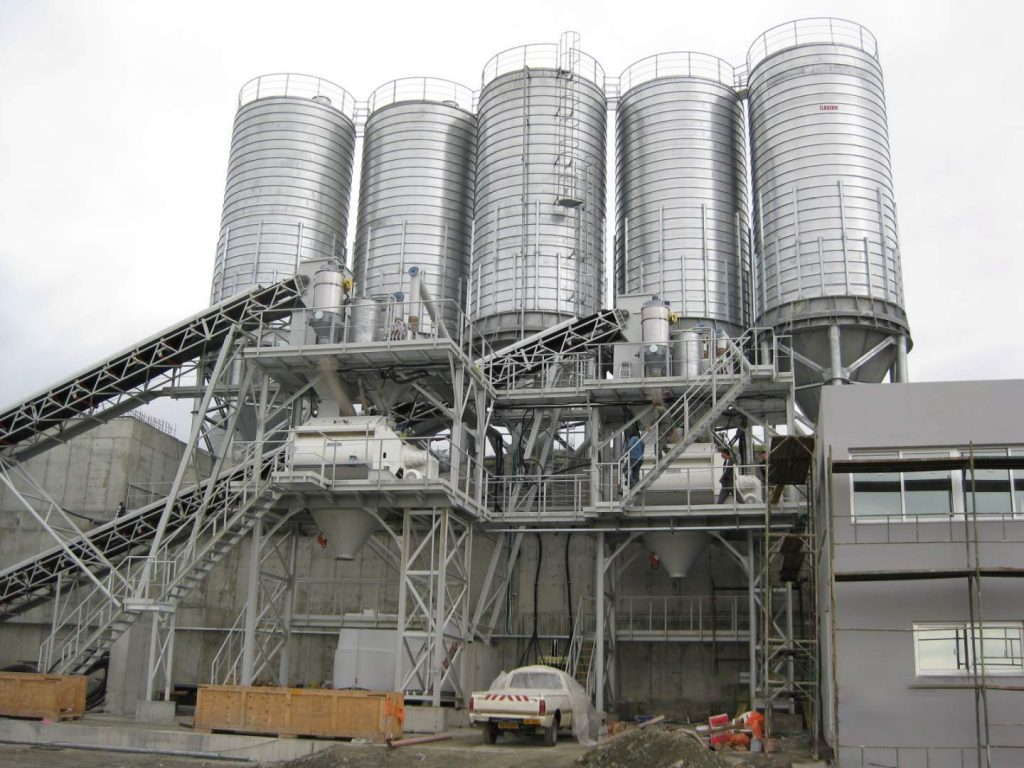 Elkayam Industries Concrete Batching Plant